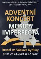 Adventní koncert Kydliny 2019